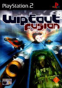 Portada oficial de Wipeout Fusion para PS2