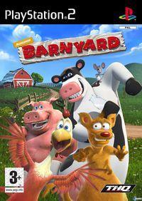 Portada oficial de Barnyard para PS2