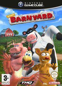 Portada oficial de Barnyard para GameCube