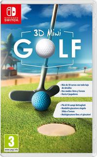 Portada oficial de 3D MiniGolf para Switch