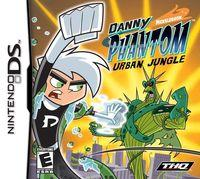 Portada oficial de Danny Phantom Urban Jungle para NDS