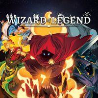 Portada oficial de Wizard of Legend para PS4