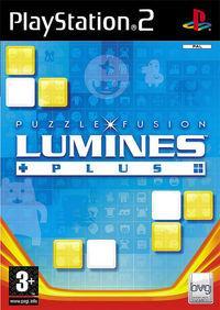 Portada oficial de Lumines Plus para PS2
