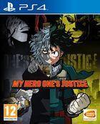 Portada oficial de de My Hero One's Justice para PS4