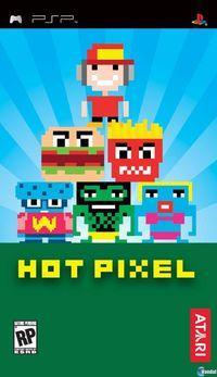 Portada oficial de Hot Pixel para PSP