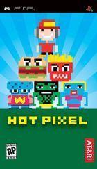 Portada oficial de de Hot Pixel para PSP