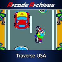 Portada oficial de Arcade Archives Traverse USA para PS4