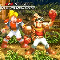 Portada oficial de NeoGeo Top Hunter Roddy & Cathy para Switch