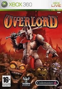 Portada oficial de Overlord para Xbox 360