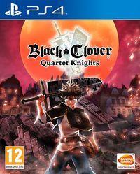 Portada oficial de Black Clover: Quartet Knights para PS4