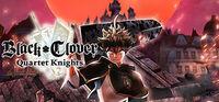 Portada oficial de Black Clover: Quartet Knights para PC