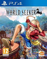 Portada oficial de One Piece: World Seeker para PS4