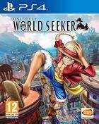 Portada oficial de de One Piece: World Seeker para PS4