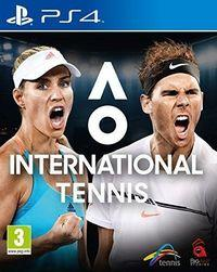 Portada oficial de AO International Tennis para PS4