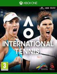 Portada oficial de AO International Tennis para Xbox One