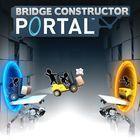 Portada oficial de de Bridge Constructor Portal para PS4