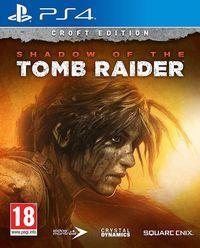 Portada oficial de Shadow of the Tomb Raider para PS4