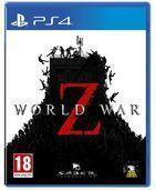 Portada oficial de de World War Z para PS4