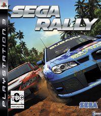 Portada oficial de Sega Rally para PS3