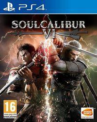 Portada oficial de SoulCalibur VI para PS4
