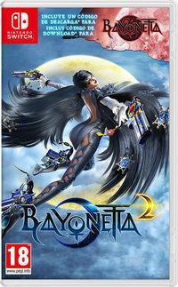 Portada oficial de Bayonetta 2 para Switch