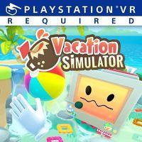 Portada oficial de Vacation Simulator para PS4