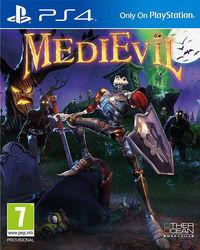 Portada oficial de Medievil Remake para PS4