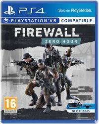 Portada oficial de Firewall Zero Hour para PS4