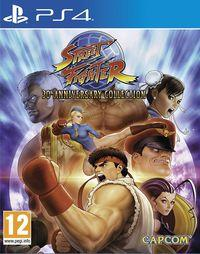 Portada oficial de Street Fighter 30th Anniversary Collection para PS4