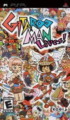Portada oficial de de Gitaroo Man Lives! para PSP