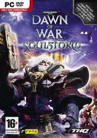 Portada oficial de Warhammer 40.000: Dawn of War - Soulstorm para PC