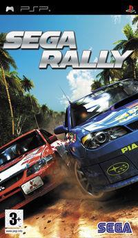 Portada oficial de Sega Rally para PSP