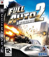 Portada oficial de Full Auto 2: Battlelines para PS3