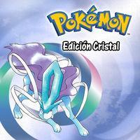 Portada oficial de Pokémon Cristal CV para Nintendo 3DS