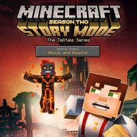 Portada oficial de Minecraft: Story Mode: Season Two - Episode 5 Above and Beyond para PS4
