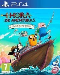 Portada oficial de Hora de Aventuras: Piratas de Enchiridión para PS4