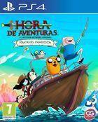 Portada oficial de de Hora de Aventuras: Piratas de Enchiridión para PS4