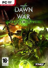 Portada oficial de Warhammer 40.000 : Dawn of War - Dark Crusade para PC