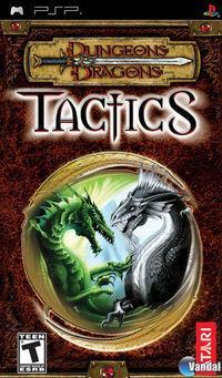 Portada oficial de Dungeons & Dragons Tactics para PSP