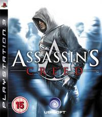 Portada oficial de Assassin's Creed para PS3