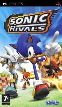 Portada oficial de Sonic Rivals para PSP