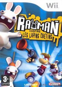 Portada oficial de Rayman Raving Rabbids para Wii
