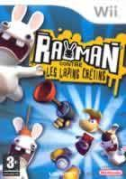 Portada oficial de de Rayman Raving Rabbids para Wii
