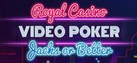 Portada oficial de Royal Casino: Video Poker para PC