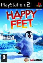 Portada oficial de de Happy Feet para PS2