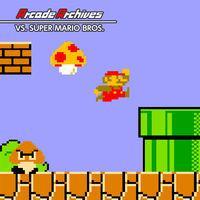Portada oficial de Arcade Archives VS. SUPER MARIO BROS. para Switch