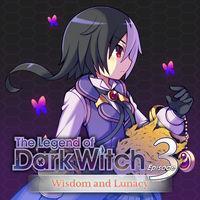 Portada oficial de The Legend of Dark Witch 3 Wisdom and Lunacy eShop para Nintendo 3DS