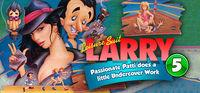 Portada oficial de Leisure Suit Larry 5 - Passionate Patti Does a Little Undercover Work para PC