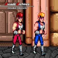 Portada oficial de Arcade Archives: Double Dragon para Switch