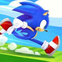 Portada oficial de Sonic Runners Adventure para Android